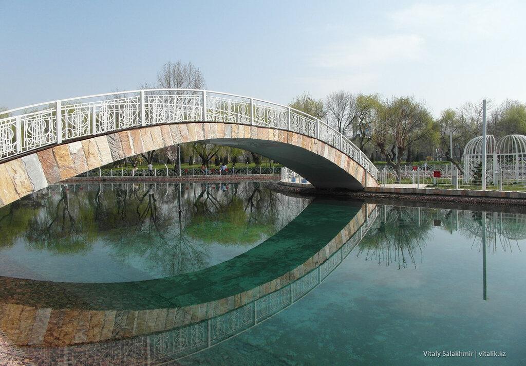 Вода в парке Бабура, Ташкент, Узбекистан