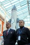 Космонавты П.В.Виноградов и А.И.Борисенко