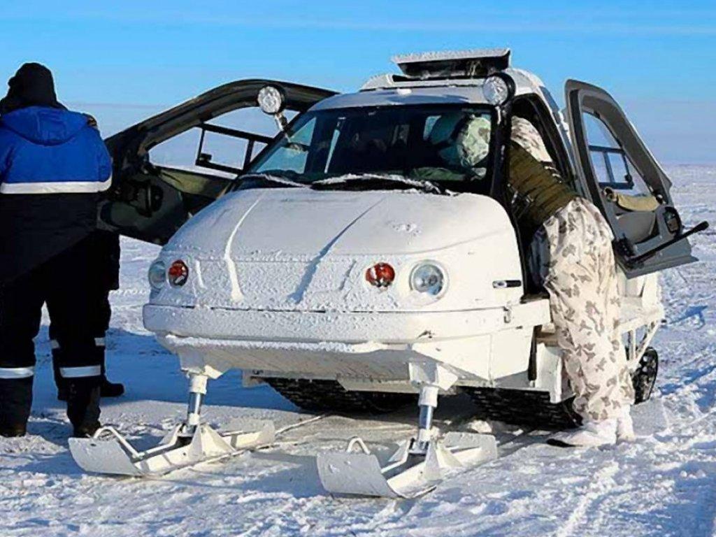 Снегоход с кабиной ТТМ-1901 «Беркут-2»