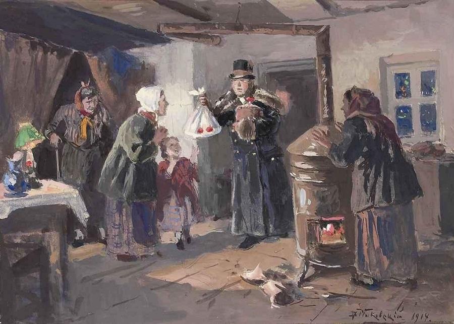 Благодетель, 1914.