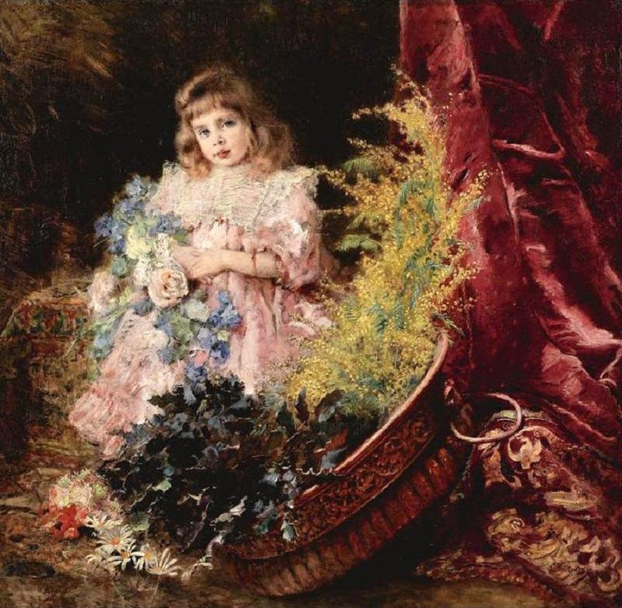 Портрет дочери художника Марины