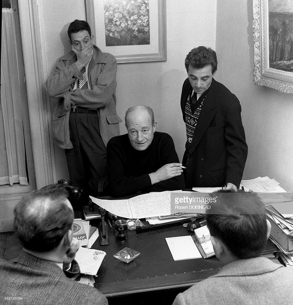 1953. Рауль Бретон, Шарль Азнавур и Жан-Филипп Клей