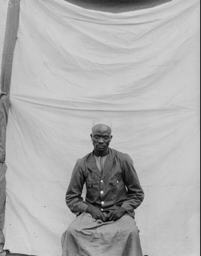 16. Антропометрическое изображение мужчины по имени Матола в Чингулунгу