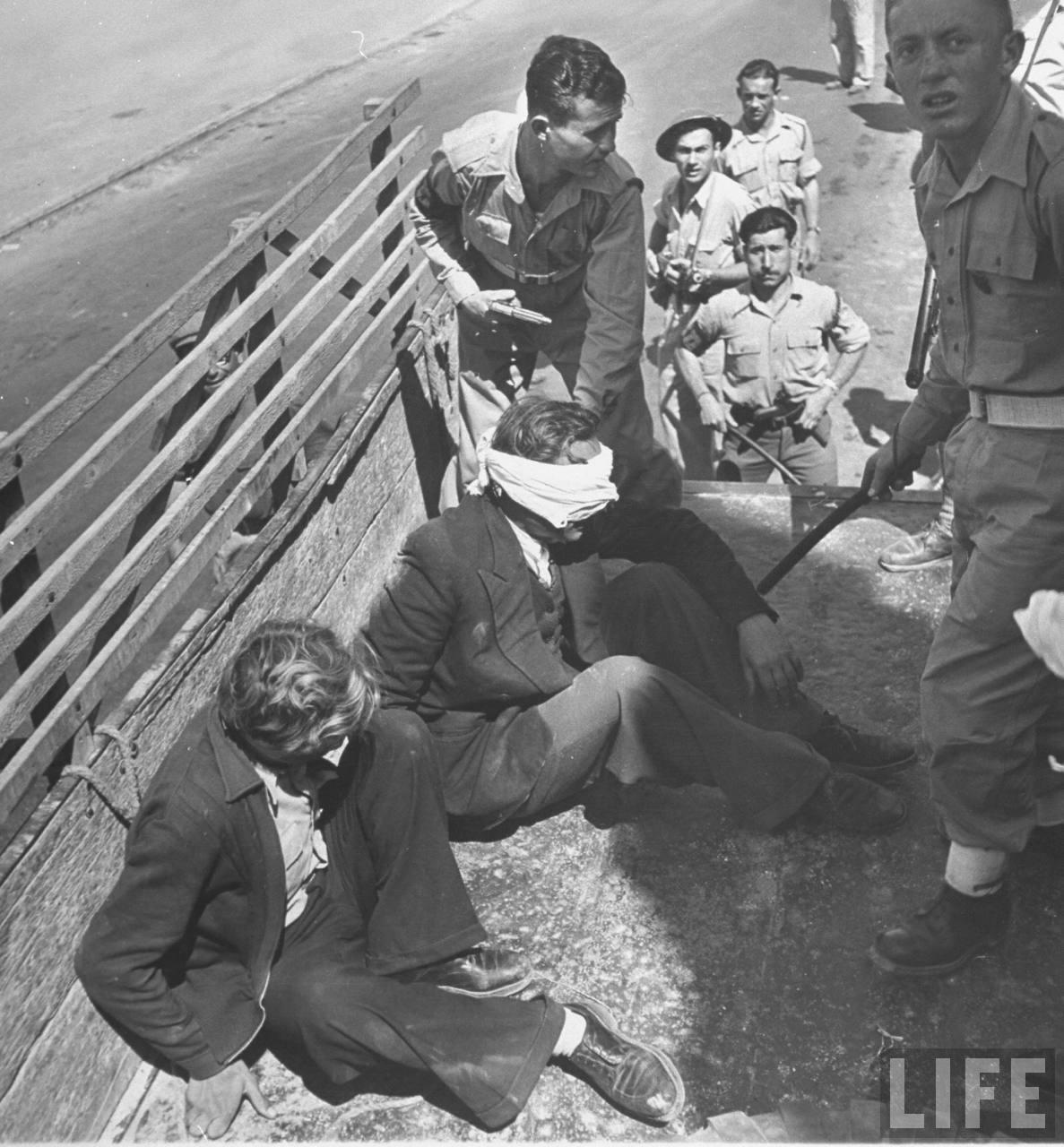 Еврейский отряд задержал польских авантюристов, организовавших саботаж в пользу арабов. Апрель