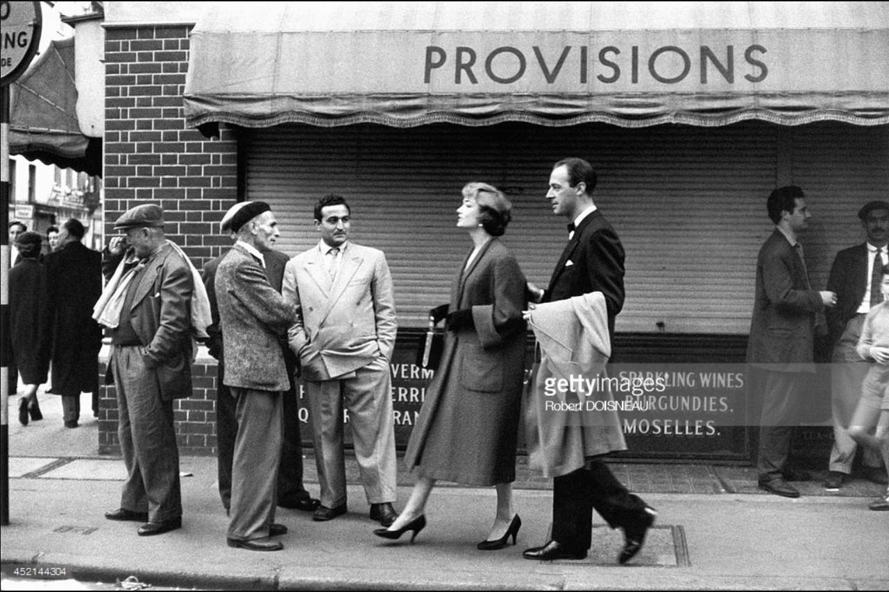 1956. Уличная сцена. Лондон