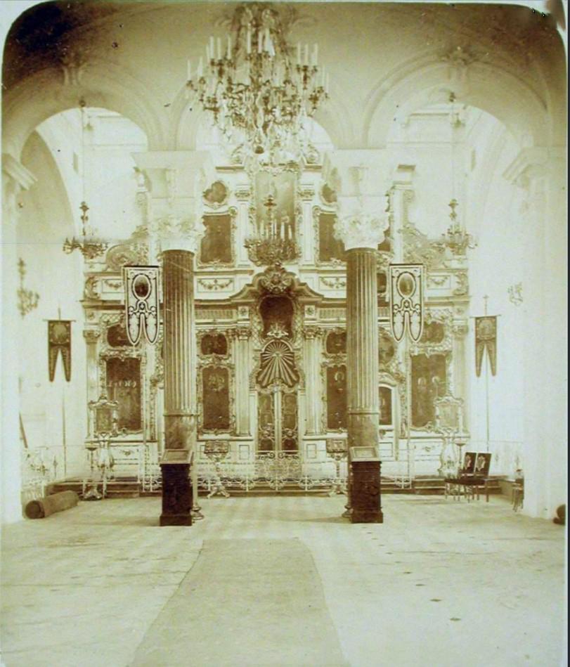 12. Вид на алтарь церкви праведных Захарии и Елизаветы (Захарьевская ул., д. 20)