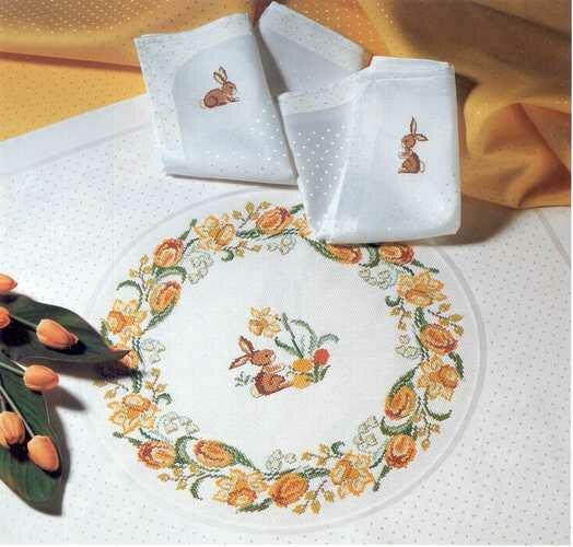 скатерть.  Вышивка крестом,схемы. схемы. салфетка.  Вторник, 15 Января 2013 г. 18:56. url=http...
