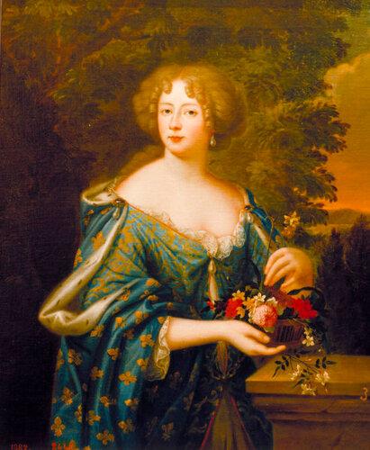 Liselotte von der Pfalz / nach Mignard. -  - Liselotte de Palatinat / d'ap. Mignard.