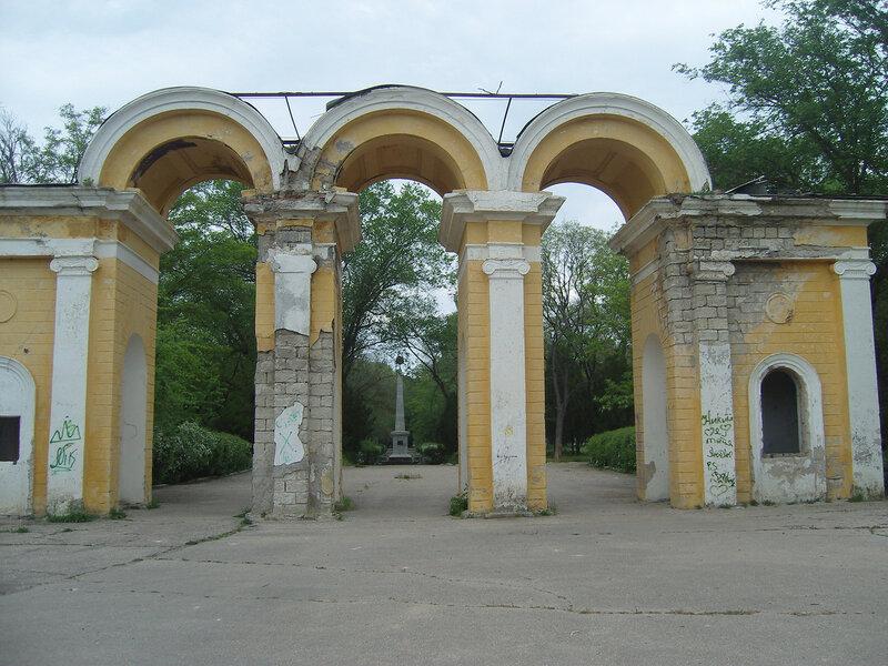 парк Войкова. Был... внутри - разруха
