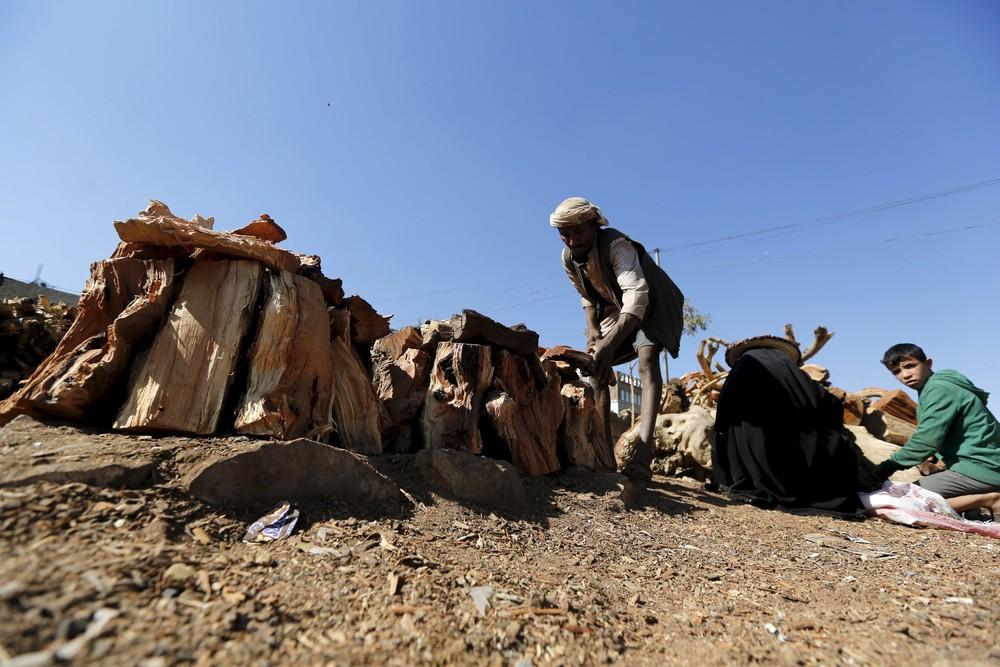 Подготовка к зиме в Йемене