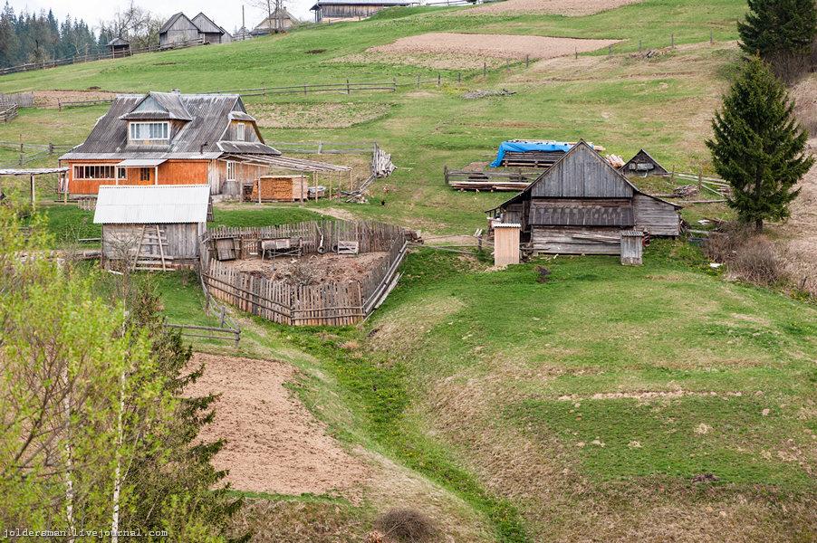 деревня Яблуница