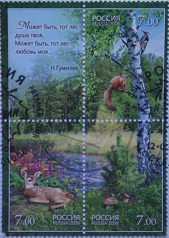 2008 Флора и фауна. Лес и его обитатели
