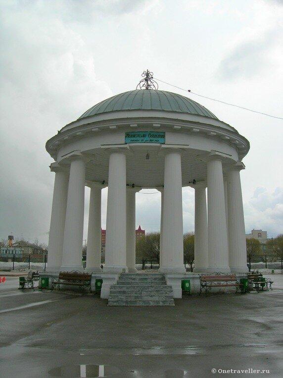 Пермь. Ротонда в парке Горького (1824 г.)