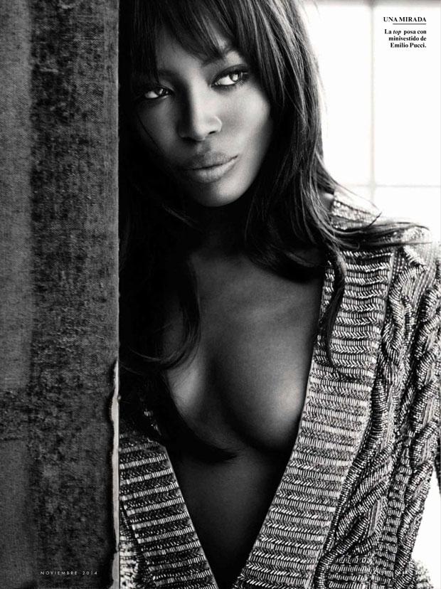 Наоми Кэмпбелл (Naomi Campbell) в журнале Vanity Fair Spain