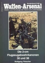 Книга Waffen-Arsenal - So68 - Die 2cm Flugzeugabwehrkanonen 30 und 38
