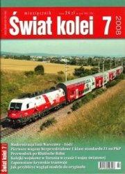 Журнал Swiat Kolei 2008-07
