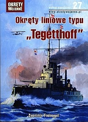 Журнал Okrety Wojenne Nr specjalny 27 - Okrety liniowe typu Tegetthoff