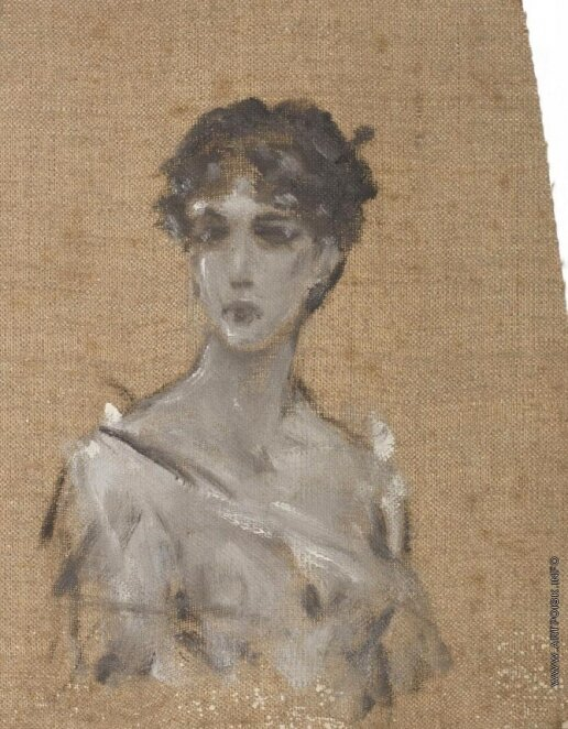 Портрет женщины. около 1900.