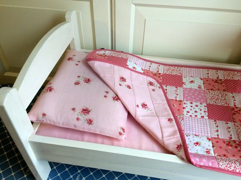 Комплект для кукольной кроватки 176