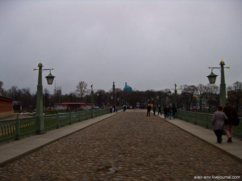 Петропавловская крепость. Иоанновский мост.