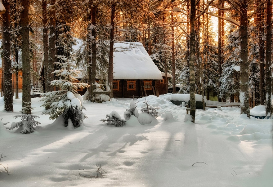 Зимние пейзажи