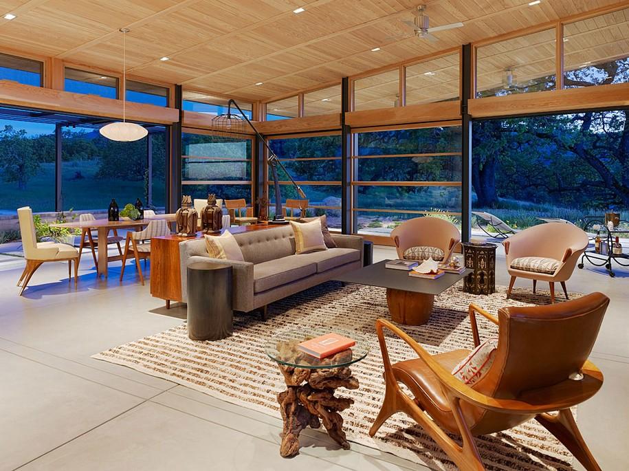 Экологичный Caterpillar House в Калифорнии