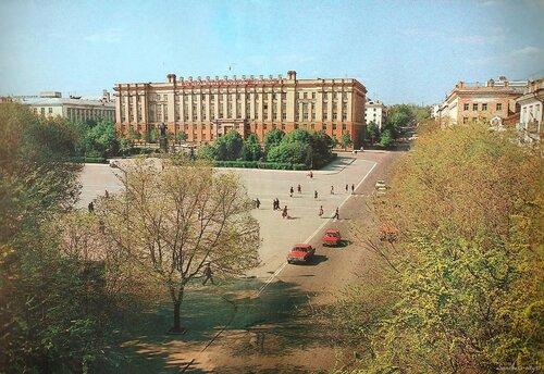 Белгород, площадь Революции, 1980.Фото Гринякина