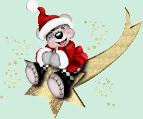 картинки анимация новогодние зверушки собрана коллекция фото