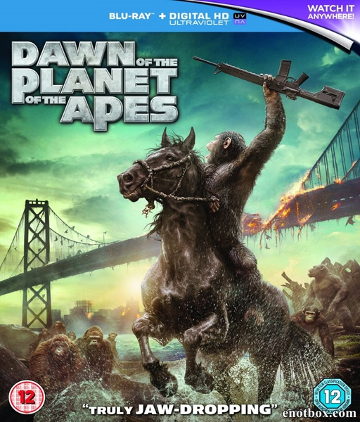 Планета обезьян: Революция / Dawn of the Planet of the Apes (2014/BD-Remux/BDRip/HDRip/3D)