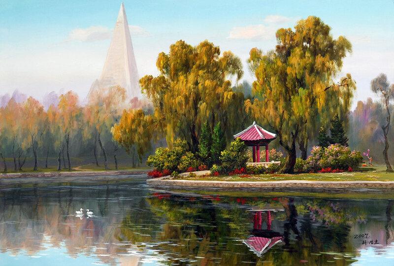 Корейский художник Ли Санг
