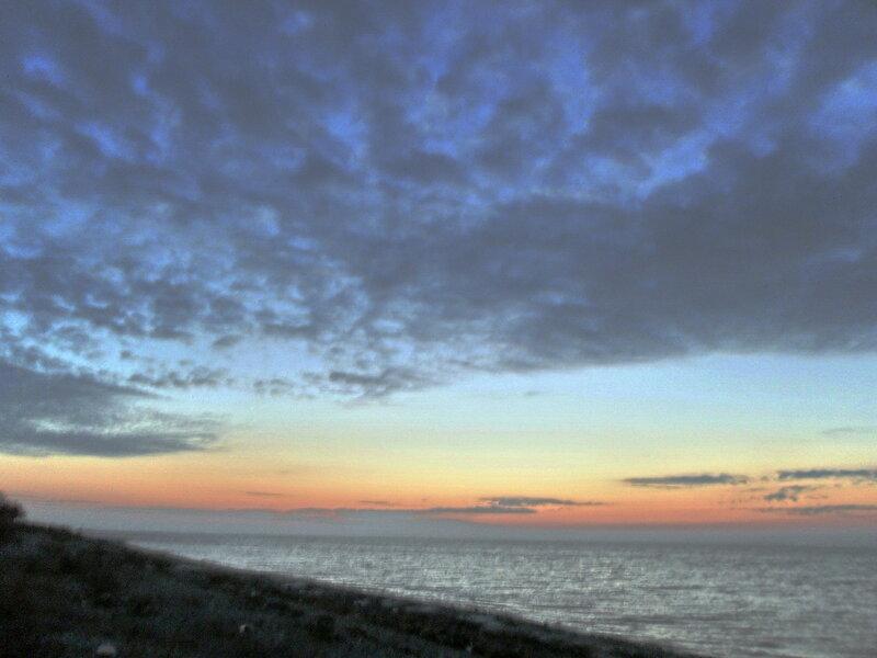 На закате. Декабрь 2011