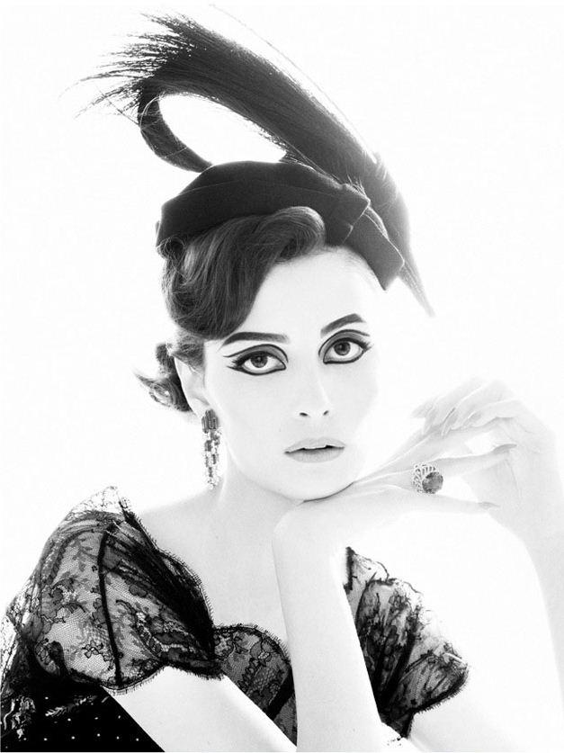 модель Сюзи Берд / Suzie Bird, фотограф Thomas Whiteside
