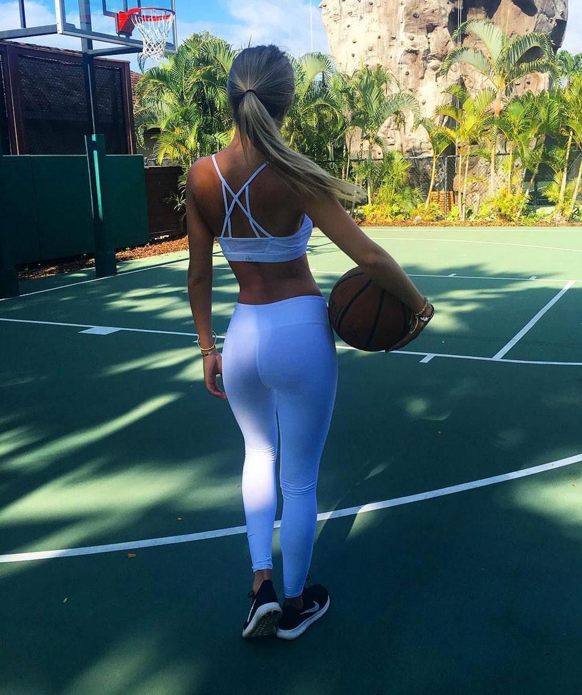 баскетбол с Алиной Бойко / Alina Boyko