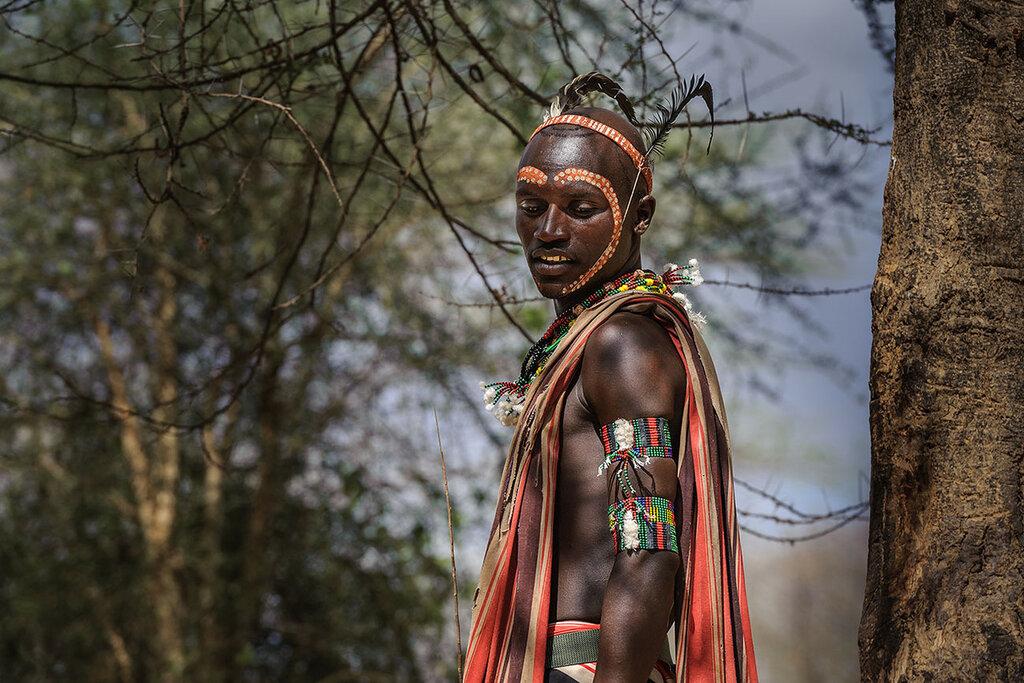 молодой мужчина ( племя хаммер)