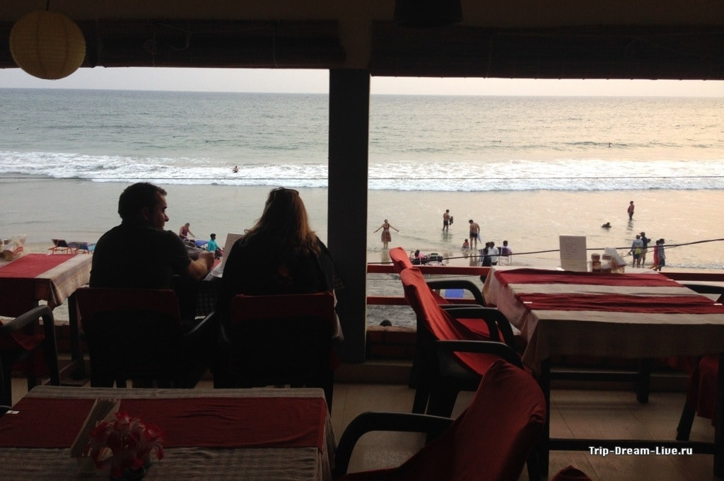 Sunset Restaurant внутри