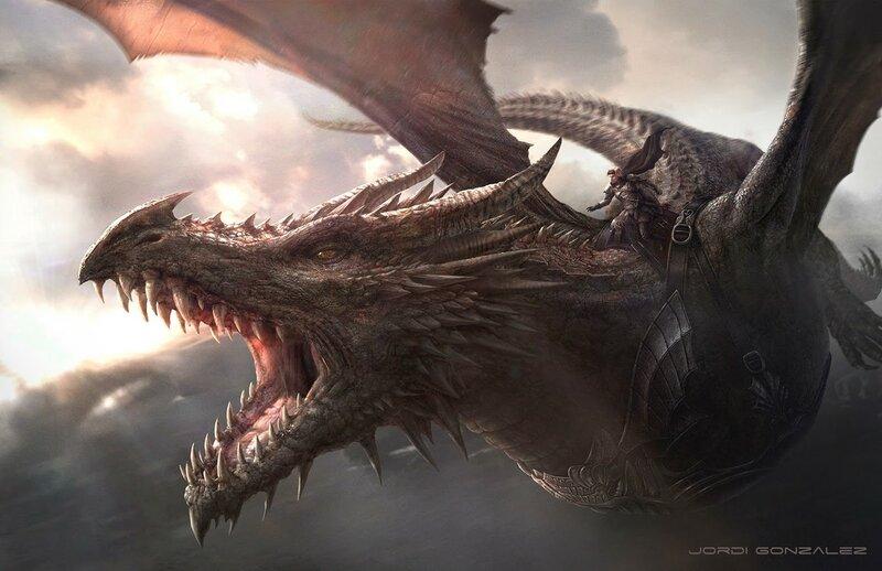 Джоди Гонсалес: Дети, драконы и летающие тарелки