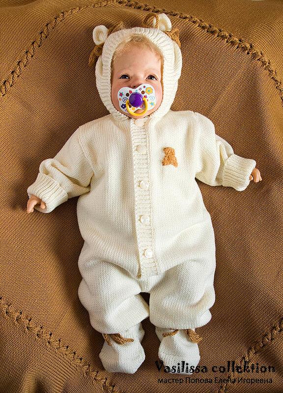 Что связать для новорожденного на осень