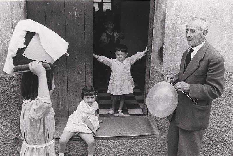1954. На улице Гренады.Испания