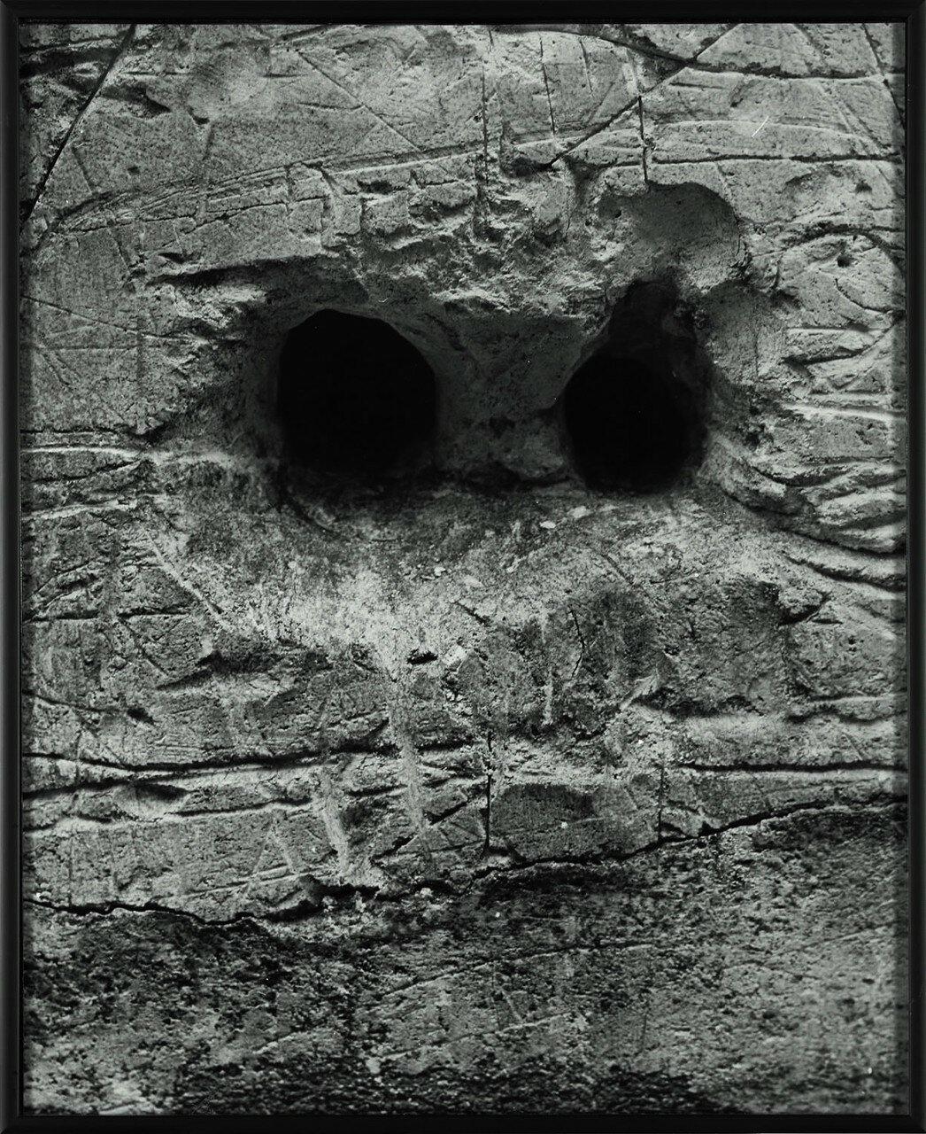 1930. Граффити. Серия III Рождение лица. Без названия