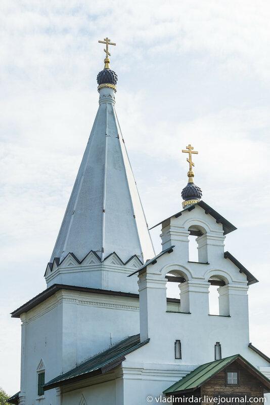 Храм Николая Чудотворца в Петровском