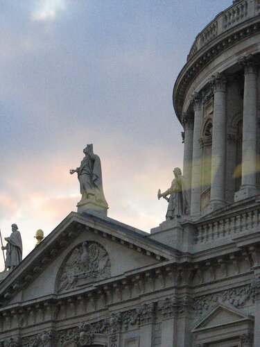 St Paul's in the Gathering Dusk