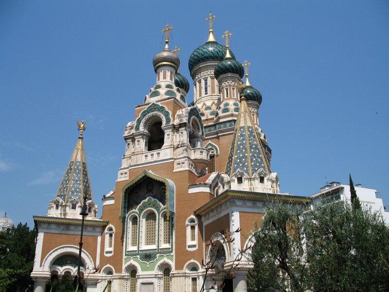 Русский православный собор в Ницце.