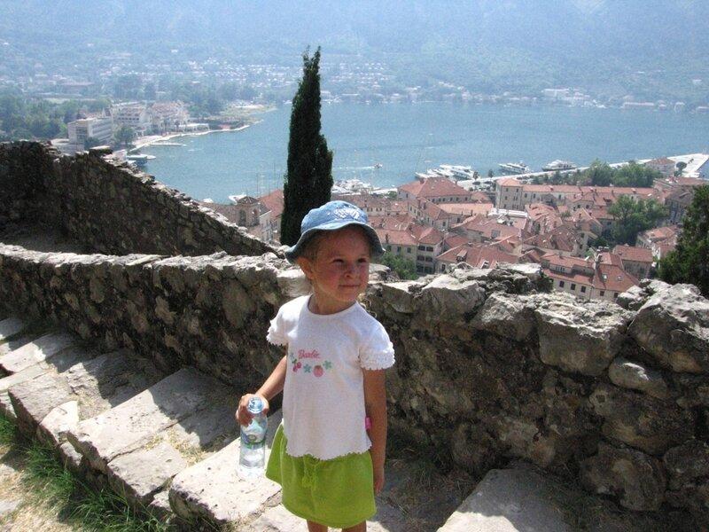 Черногория, крепостная стена Котора