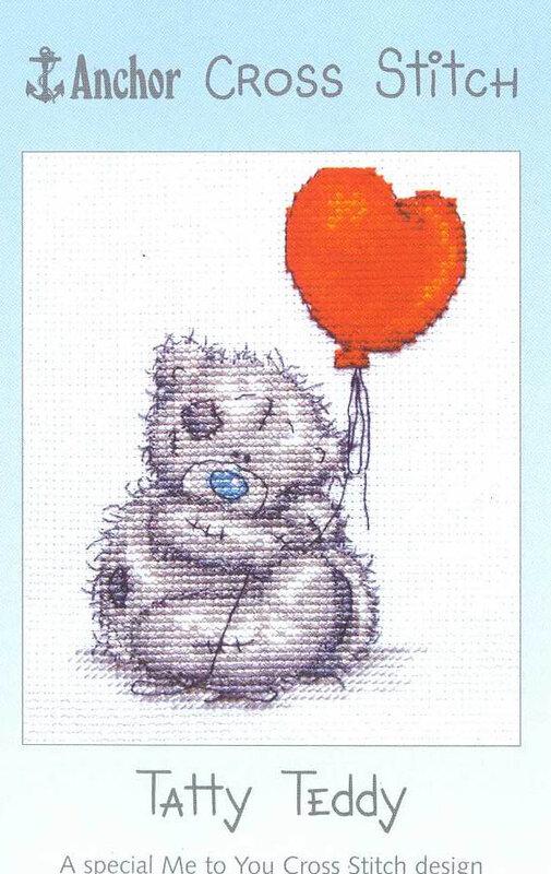 """Набор для вышивки крестом  """"Tatty Teddy """" (TT 0304) (Прочее).  Хобби, Ремесла.  В наборе: счетная схема, подбор ниток."""