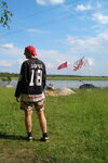 Флаги над озером
