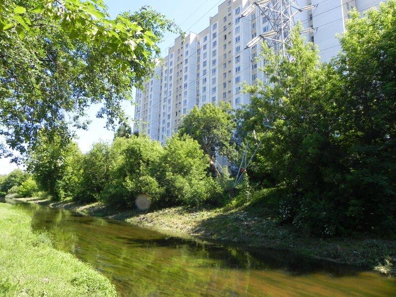 Москва.Лихоборская набережная