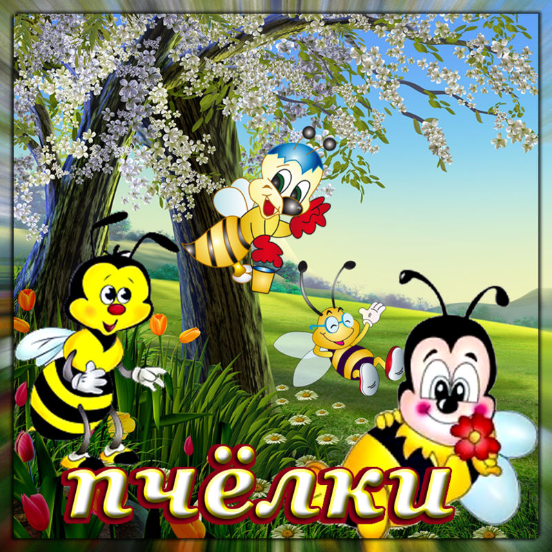 Картинки про, группа пчелки гифы