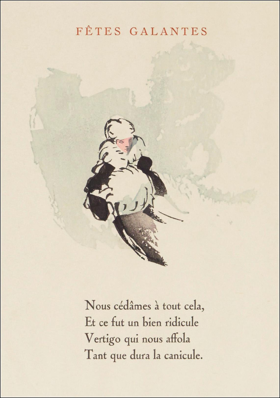 Gabrielle Cazayous, Fêtes galante