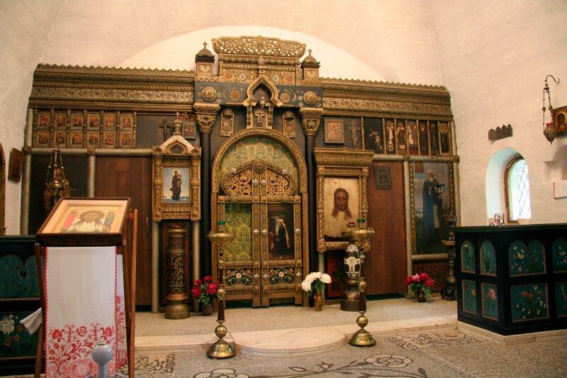 Абрамцево, церковь Спаса Нерукотворного. Внутреннее убранство
