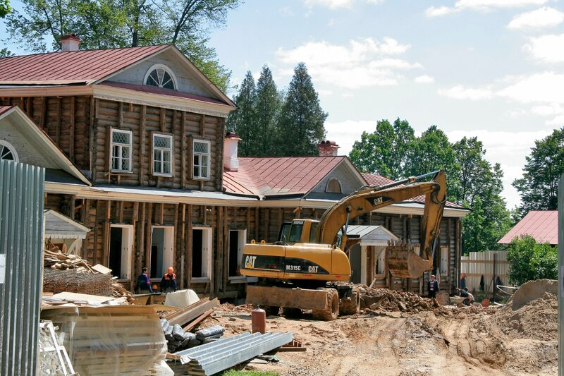 Абрамцево, Реконструкция Усадебного дома